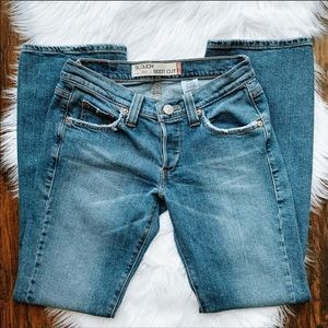 Levi's 513 Slouch Boot Cut Button Fly Jeans 5M